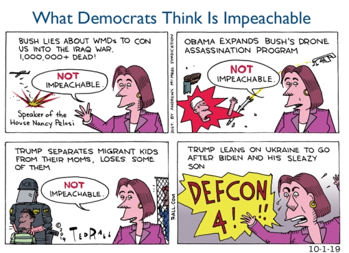 Impeachable/Not Impeachable